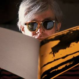Andy Warhol In New York, United States by Herve Gloaguen