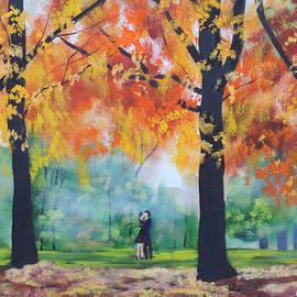 Autumn couple by Gordon Bruce
