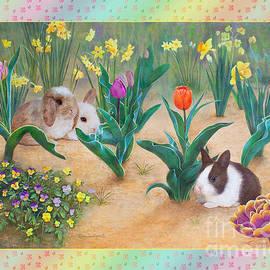 Baby Bunnies on Tulip Playground