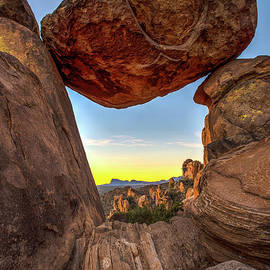 Balanced Rock by Charles Dobbs
