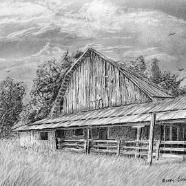 Barn On Byhalia Road by Barry Jones