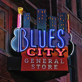 Blues City General Store - Memphis by Allen Beatty