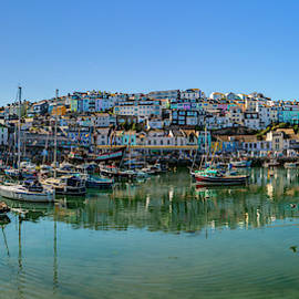 Brixham Harbour, Devon. by Maggie McCall