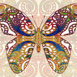 Butterfly Illustration - Transforming Rainbows  - Omaste Witkowski by Omaste Witkowski