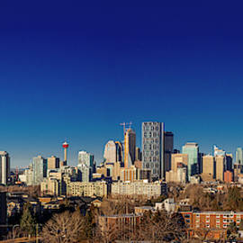 Calgary City Center by Philip Rispin