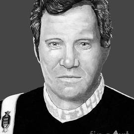 Captain James T. Kirk by Bill Richards
