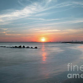 Charleston Sunset - Sullivan's Island by Dale Powell