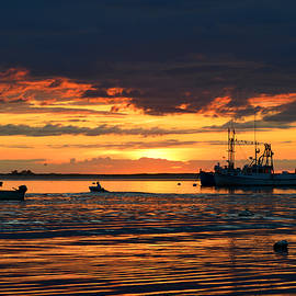Chatham Harbor at Dawn by Dianne Cowen