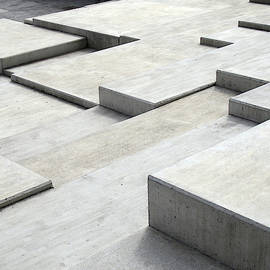 Concrete Geometry - Modernist Abstract 5 by Philip Openshaw