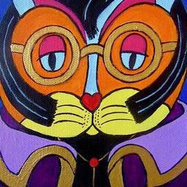 Elvis Cat by Stephanie Moore