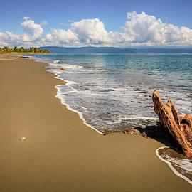Empty beach in Costa Rica by Alexey Stiop