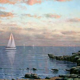 Evening Sail by Rick Hansen