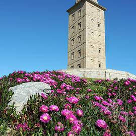 Hercules Tower - Coruna, Spain by Fine Art Photography Prints By Eduardo Accorinti