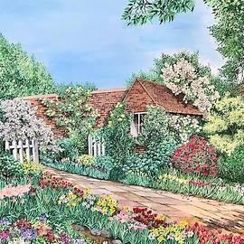 Garden Shed by Carol Barber