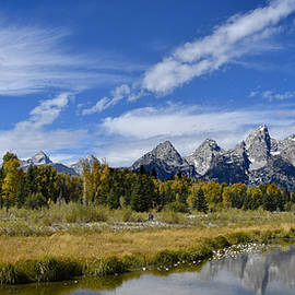 Grand Tetons by Don and Bonnie Fink