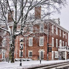 Hale Springs Inn with Snow by Randy Ball