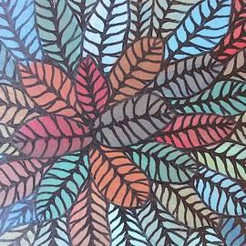 Happy Leaves 21 by Bradley Boug