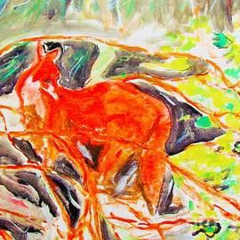 Hidden Fox by Stanley Morganstein
