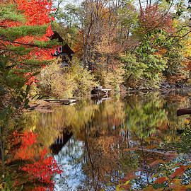 Hidden From View On Chocorua River by Jeff Folger