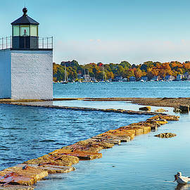 High Tide At Derby Wharf In Salem by Jeff Folger