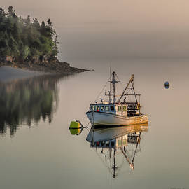 Lifes Treasures At Mooring by Marty Saccone