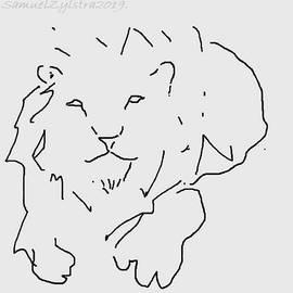 Lion Sketch by Samuel Zylstra