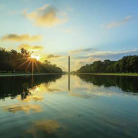 Monumental Sunrise by Tejus Shah