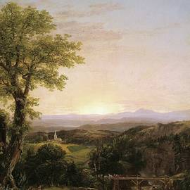 New England Scenery by Thomas Cole