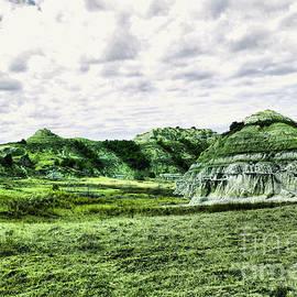 North Dakota badlands by Jeff Swan