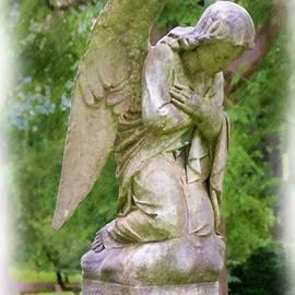 Old City Cemetery Angel by Norma Brandsberg