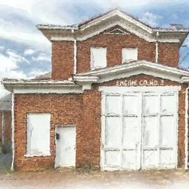 Old Lynchburg Fire Station #2 by Norma Brandsberg