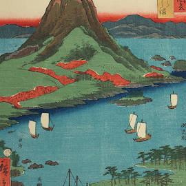 Osumi on Sakura Island, 19th century by Utagawa Hiroshige