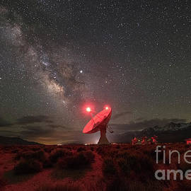 Owens Valley Radio Observatory  by Michael Ver Sprill