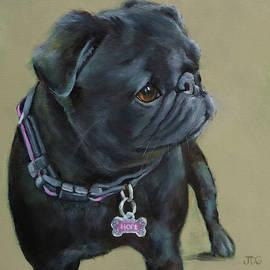 Pug by Julie Dalton Gourgues
