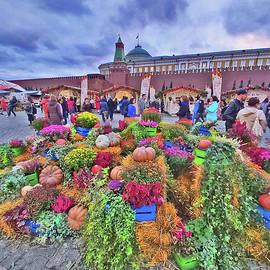 Red Square. Moscow Autumn. by Andy Za
