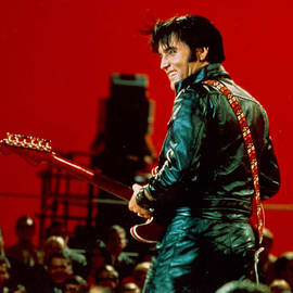 Rock And Roll Musician Elvis Presley by Michael Ochs Archives