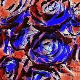 Rose Abstract by Trudee Hunter