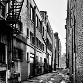 Seattle Alleyway by David Patterson