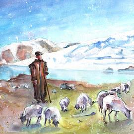 Shepherd In The Atlas Mountains by Miki De Goodaboom