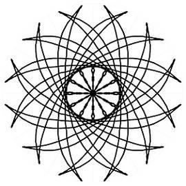 Spiral Graphic Design  by Delynn Addams