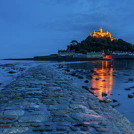 St Michael's Mount, Cornwall by David Ross