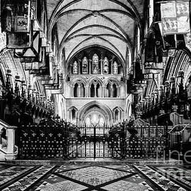 St. Patrick's Cathedral - BW by Scott Pellegrin