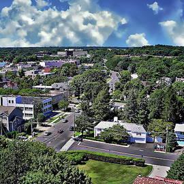 Stamford Aerial View by Anthony Dezenzio
