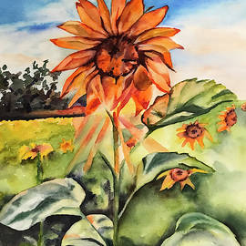 Sunflower by Kimberly Lavelle
