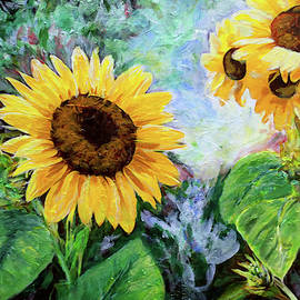 Sunflowers by Michele A Loftus