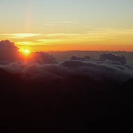 Sunrise At Haleakala by Marie Leslie