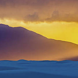 Sunset at White Sands by Stephen Whalen