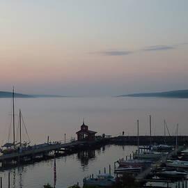 Sunset on Seneca Lake by Patricia Caron