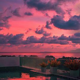 Sunset sky by Oleg Ver