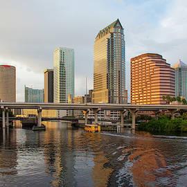 Tampa Florida Skyline by John Black